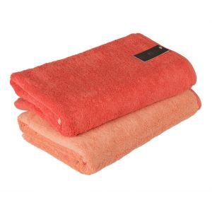 Unique (943-22) – махровое полотенце красного цвета Cawo, Германия