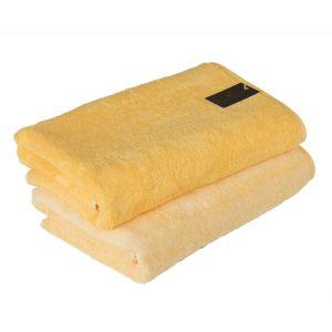 Unique (943-55) – махровое полотенце желтого цвета Cawo, Германия