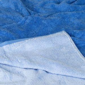 Unique (943-11) – махровое полотенце синего цвета Cawo, Германия