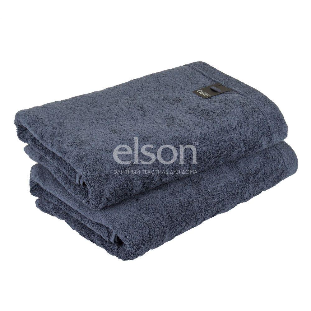 Lifestyle (7007-111) - махровое полотенце темно-синего цвета Cawo, Германия