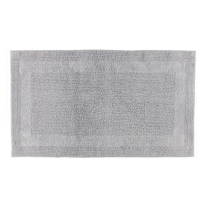 Двухсторонний коврик для ванной светло-серого цвета CAWO (1000-705), Германия