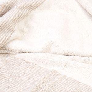 Махровое полотенце бежевого цвета Two-Tone (590-33) Cawo, Германия