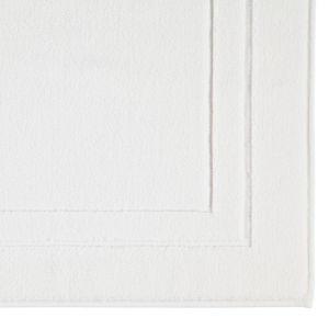 Коврики для ног из хлопка белого цвета Classic (303-600) CAWO, Германия