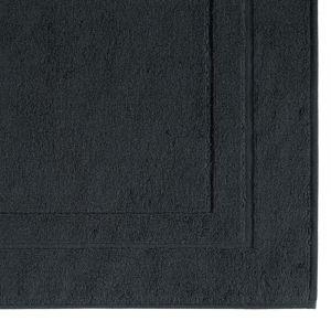 Коврики для ног из хлопка черного цвета Classic (303-901) CAWO, Германия