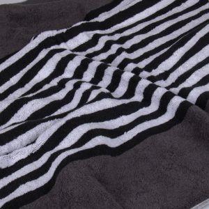 Black & White (977-77) - махровое полотенце Cawo, Германия