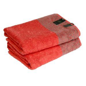 Two-Tone (590-27) - махровое полотенце для пляжа / сауны Cawo, Германия
