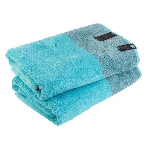Two-Tone (590-47) - махровое полотенце для пляжа / сауны Cawo, Германия