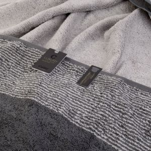 Two-Tone (590-77) - махровое полотенце для пляжа / сауны Cawo, Германия