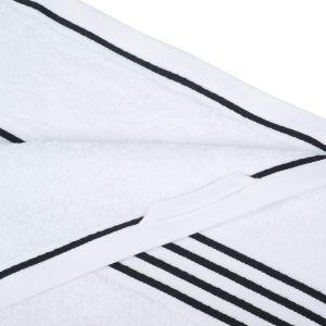 Gözze RIO (141-99) - махровое полотенце белого цвета с черным кантом Gözze, Германия