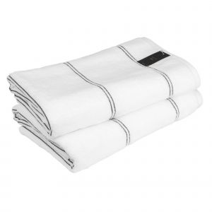 Carat (581-600) - махровое полотенце белого цвета Cawo, Германия