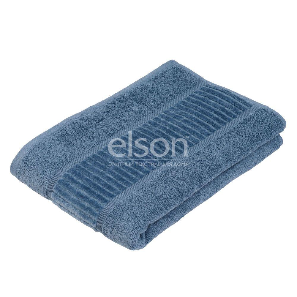 Gözze BIO (188-50) - махровое полотенце синего цвета Gözze, Германия