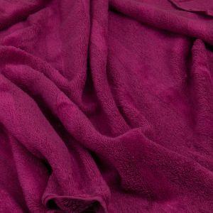 Noblesse 2 (1002-833) - махровое полотенце малинового цвета Cawo, Германия