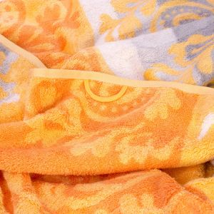 Полотенце махровое оранжевого цвета Cawo NOBLESSE CASHMERE (1057-035)