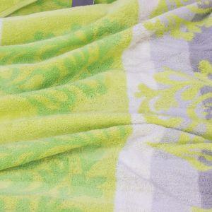 Полотенце махровое салатового цвета  Cawo NOBLESSE CASHMERE (1057-045)