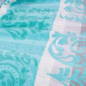 Полотенце махровое бирюзового цвета Cawo NOBLESSE CASHMERE (1057-014)