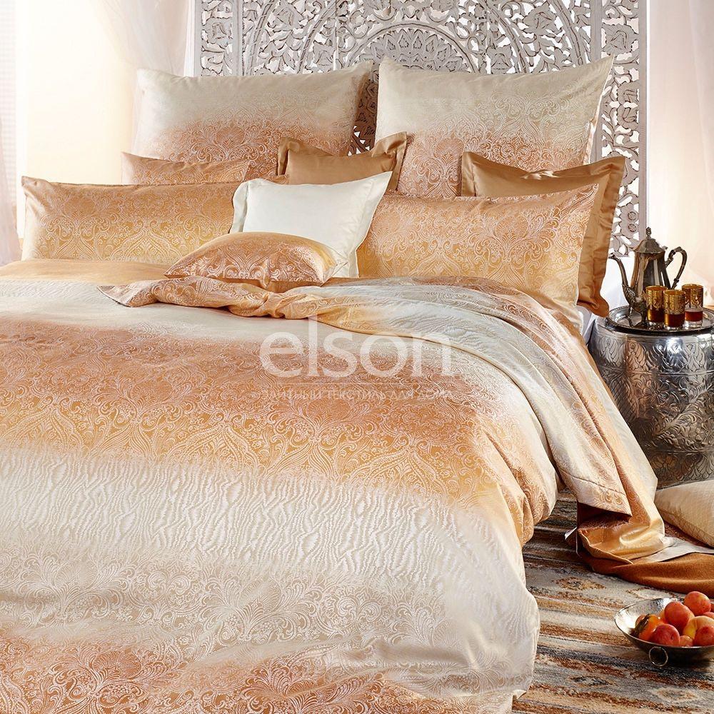 Элитное постельное белье Curt Bauer Soraya (2515-0133), Германия. Двуспальное с жаккардовым плетением