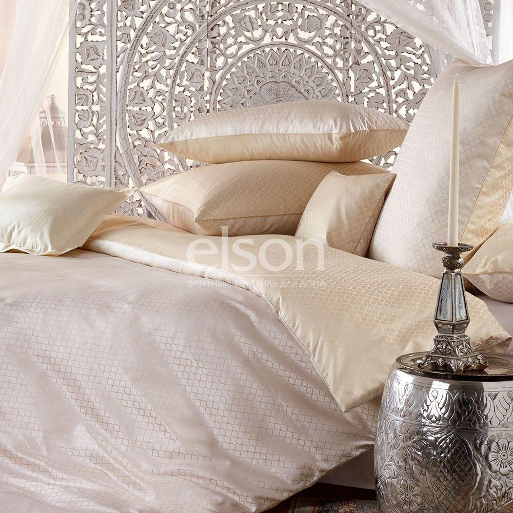 Элитное постельное белье Curt Bauer Alisar (2516-0136), Германия. Двуспальное с жаккардовым плетением