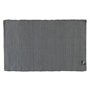 Коврик для ванной из хлопка темно-серого цвета Uni (1002-774) CAWO (Германия)