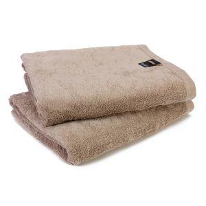 Однотонное махровое полотенце светло-серого цвета Cawo LIFESTYLE (7007-374)
