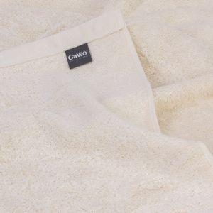Однотонное махровое полотенце бежевого цвета Cawo LIFESTYLE (7007-351)
