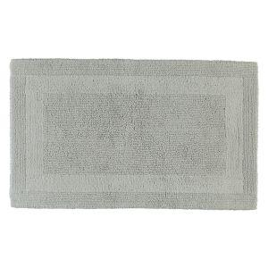 Двухсторонний коврик для ванной светло-серого цвета UNI (1000-775) CAWO (Германия)