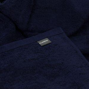 Полотенце махровое однотонное темно-синего цвета Lifestyle (7007-133) Cawo, Германия. 100% египетский хлопок