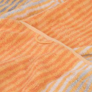 Полотенце махровое оранжевого цвета Cawo Noblesse Cashmere (1056-035), 100% египетский хлопок