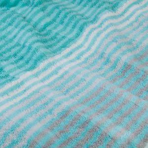 Полотенце махровое бирюзового цвета Cawo Noblesse Cashmere (1056-014), 100% египетский хлопок