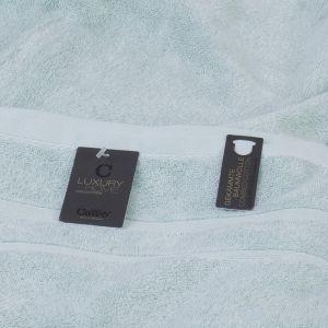 Махровое полотенце серый нефрит цвета Selected (6000-465) Cawo, Германия