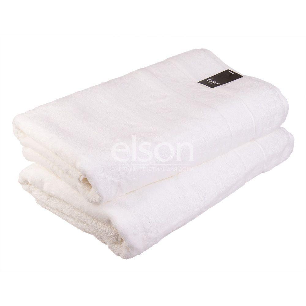 Noblesse 2 (1002-600) - махровое полотенце белого цвета Cawo, Германия